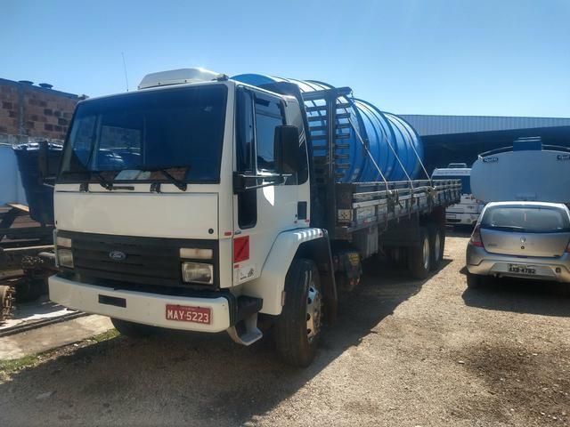 Cargo 1622 truck ano 2000 carroceria aberta - Foto 5