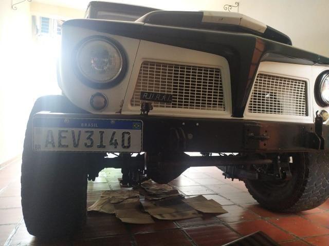 Vendo Rural Willys ano 1972 Turbo Diesel - Foto 2
