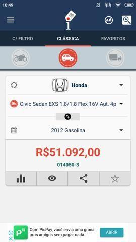 Honda Civic EXS abaixo da Fipe p vender rápido - Foto 9