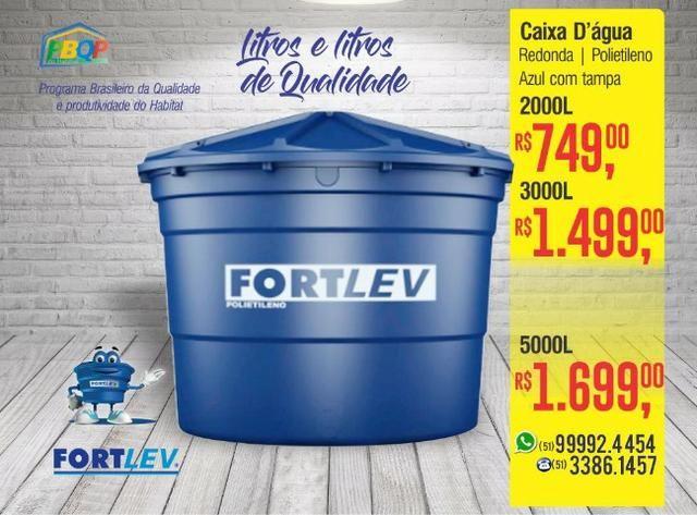 Caixa D'água Polietileno 500 Litros Fortlev - Foto 2