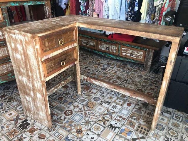 Escrivaninha rustica
