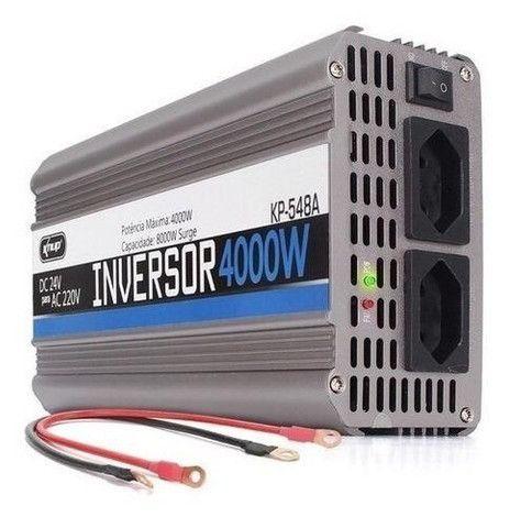 Inversor Para Motor 4000w 12v Para 220v - Foto 3