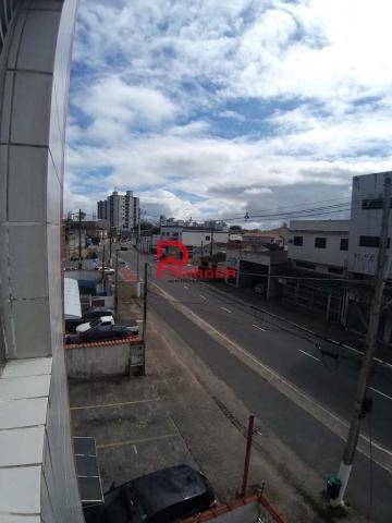 Apartamento à venda com 1 dormitórios em Boqueirão, Praia grande cod:1486 - Foto 3
