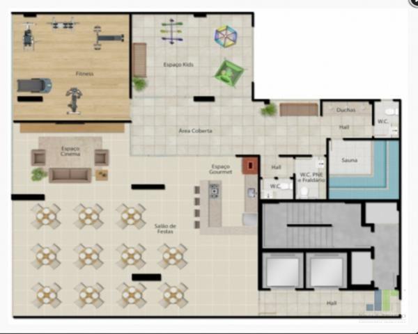 Apartamento à venda na Praia do Morro em Guarapari, 2 quartos 1 ou 2 vagas de garagem - Foto 6