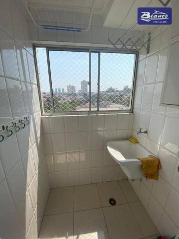 Apartamento com 2 dormitórios para alugar, 50 m² por R$ 900,00/mês - Vila Augusta - Guarul - Foto 8