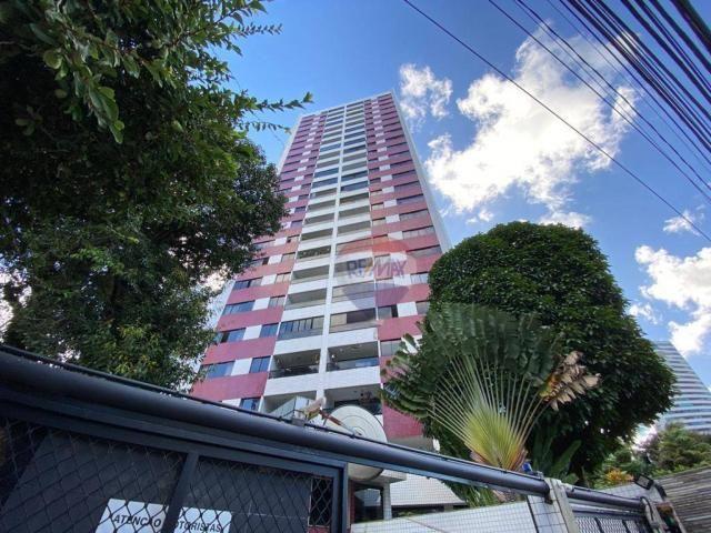 Excelente Apartamento com 4 Quartos e 3 Vagas em Casa Forte para Venda ou Locação
