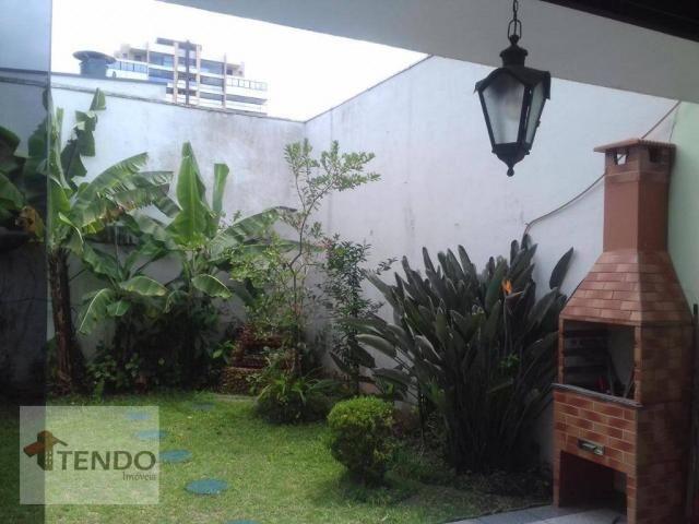 Sobrado - venda - 4 dormitórios, - 3 suítes - aluguel por R$ 4.600/mês - Vila Marlene - Sã - Foto 17