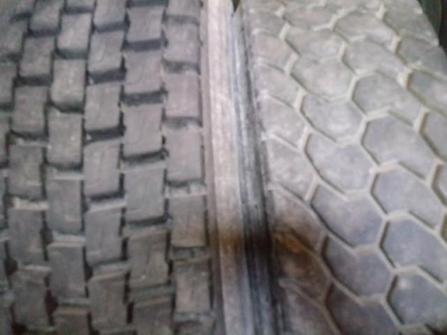 Pneus usados seminovos meia vida para caminhão com excelente qualidade - Foto 4