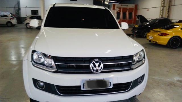 Volkswagen Amarok 2.0 Highline CD 4x4 TDI 16v Turbo Intercooler Diesel 4p Automática - Foto 2
