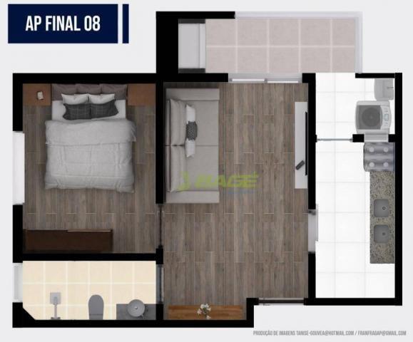 Apartamento com 1 dormitório à venda, 32 m² por R$ 199.000,00 - Centro - Pelotas/RS - Foto 8