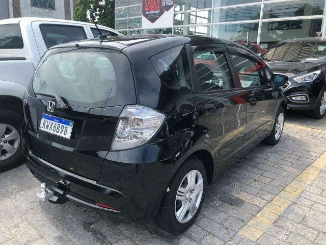 Honda Fit automático 1.4 2014 Banco de couro j - Foto 4
