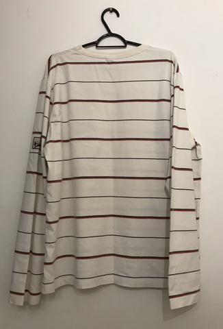 Camiseta manga longa osklen listrada - Foto 2