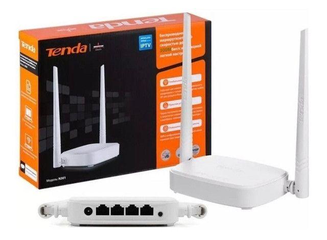 Roteador N301 Tenda 300mbps 2 Antenas Original Anatel - Foto 4