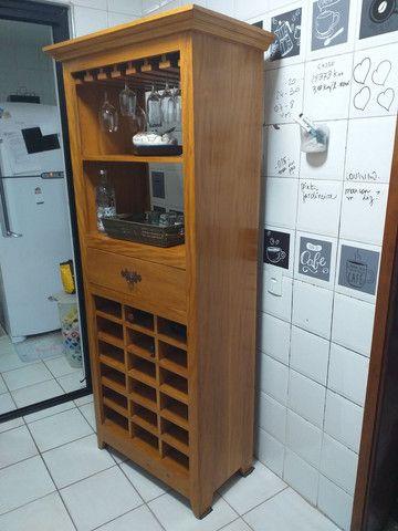 Bar Adega de Madeira Maciça  - Foto 3