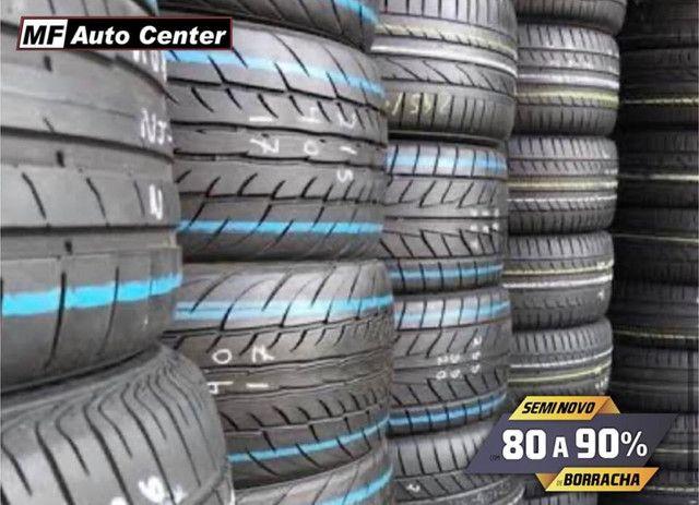 ?Pneus semi novos 205/55-16 Bridgestone - Foto 7