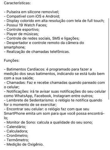Relógio Smart Watch w46 - Foto 5