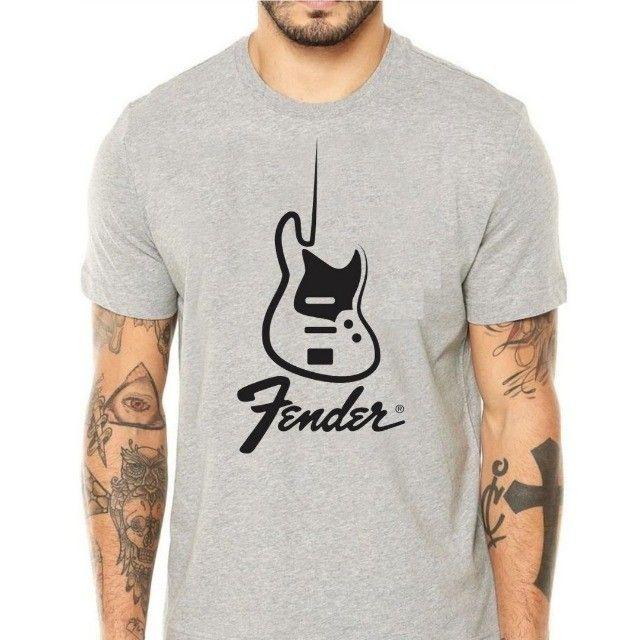 Camiseta Fender Jazz Bass  - Foto 2