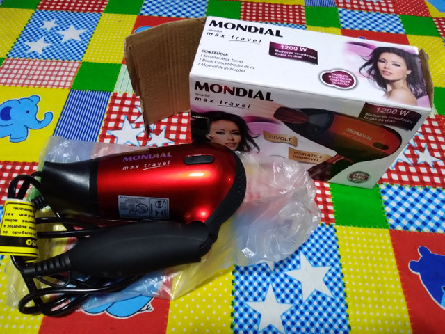 Secador+prancha+modelador MONDIAL  - Foto 3