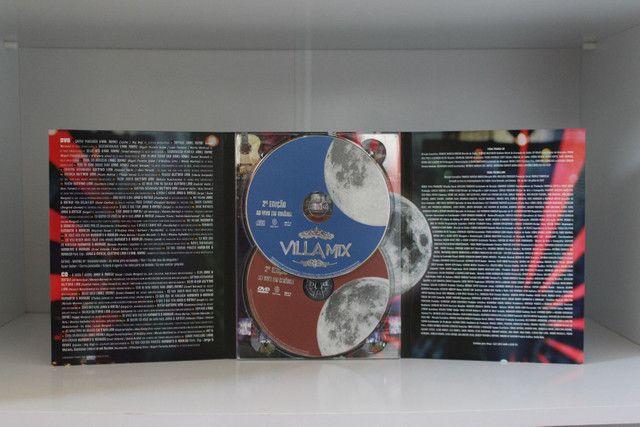 Dvd + Cd Villa Mix 2°Edição - Ao vivo em Goiânia - Foto 2