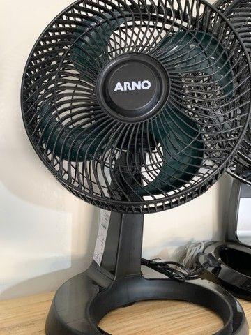 Ventilador Arno de Mesa 30cm turbo silence 220v (novo)