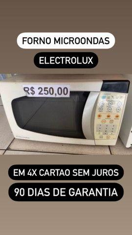 forno microondas cartão 4x sem juros com garantia