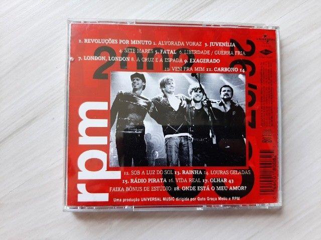 Cd RPM 2002 MTV ao Vivo - Perfeito Estado de Conservação - Foto 2