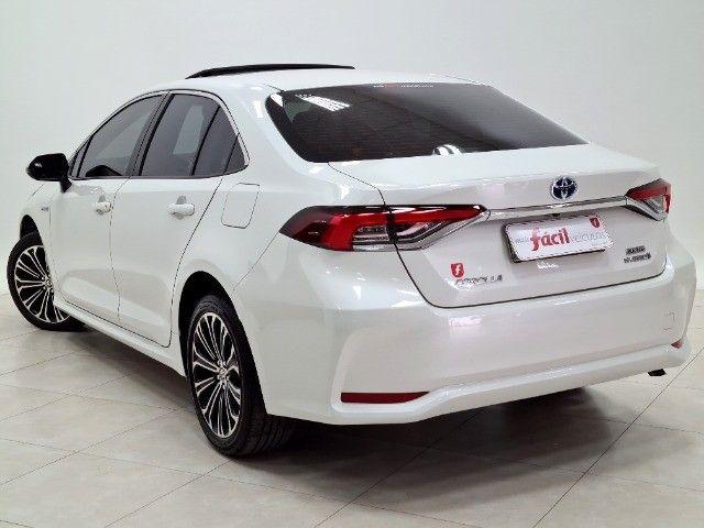 corolla altis premium hybrid 1.8 flex 2021 aceito troca - Foto 6