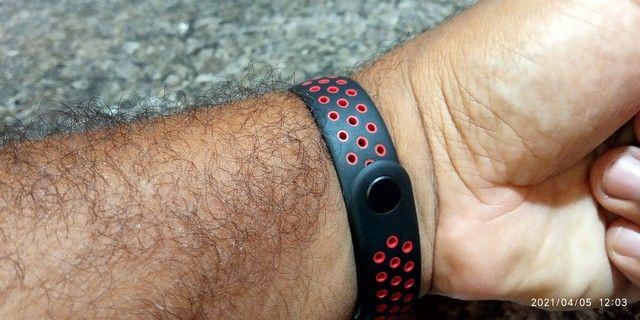 Smart Band M5 com pulseira extra - Foto 5