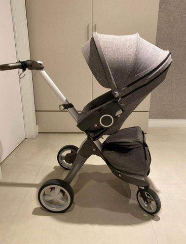 Carrinho de bebê luxo  - Foto 5