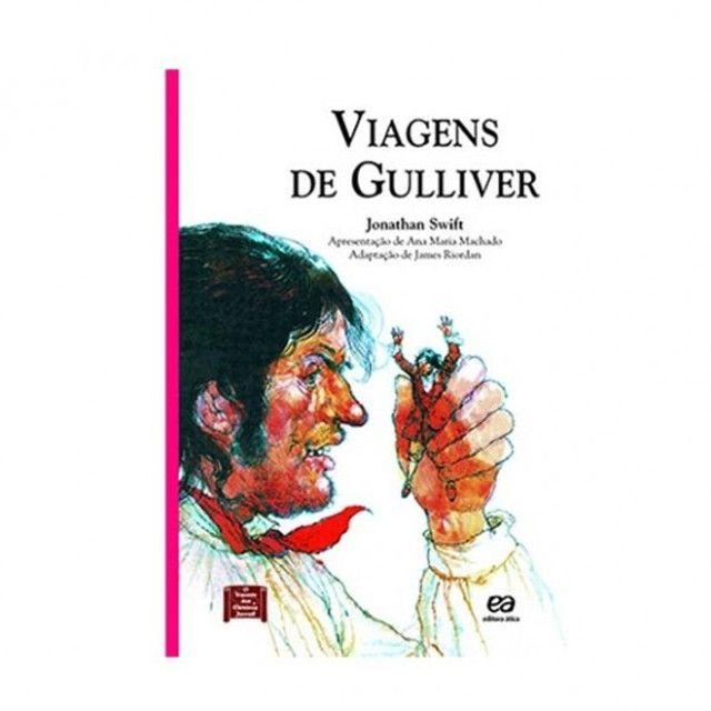 Viagens De Gulliver Jonathan Swift Editora Ática
