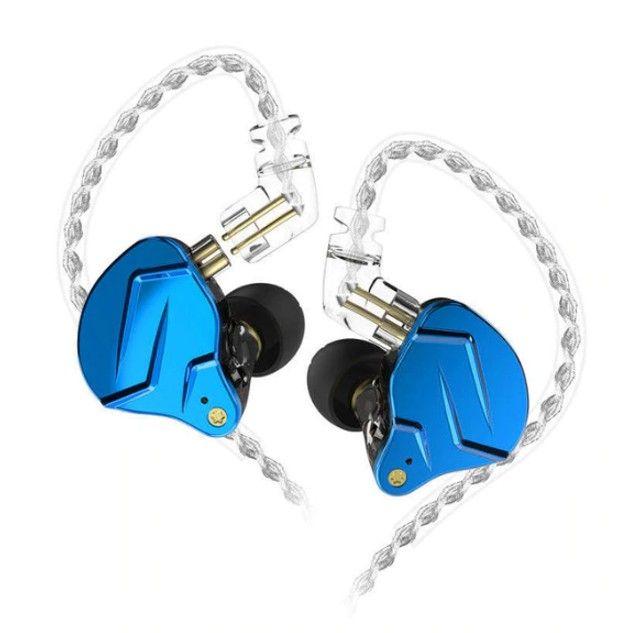 Fone In-ear Kz Zsn Pro X - Retorno De Palco Profissional - Foto 6