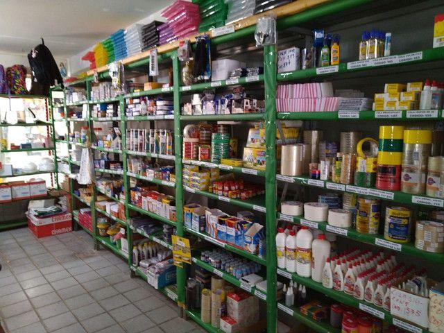 Vendo Estoque para Loja Papelaria Completa (estoque, móveis e eletrônicos).