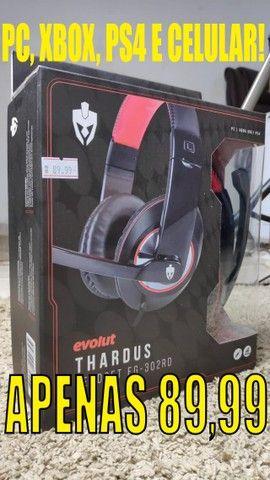 Headsets Gamers em Promoção! Vários Modelos! - Foto 4