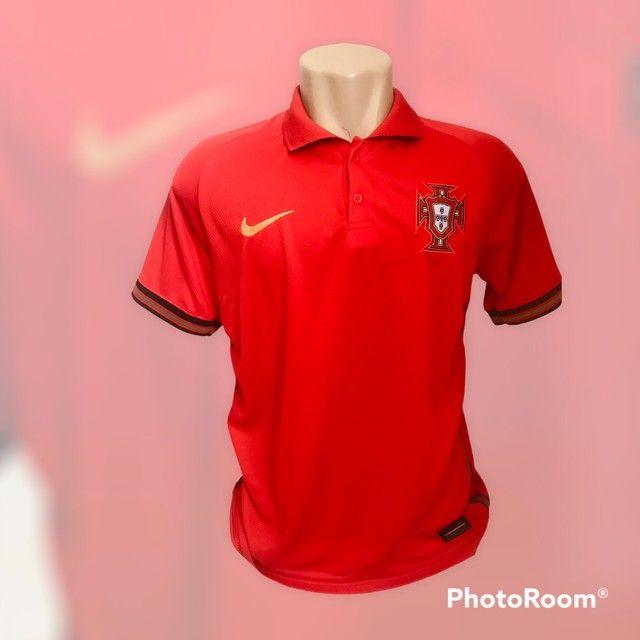 Camisa de time  1 linha nacional  - Foto 4