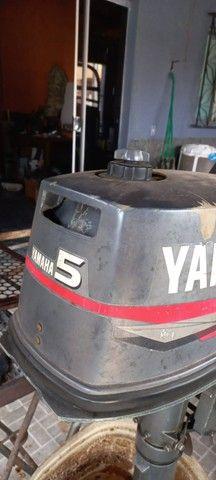 motor de popa 5 hp - Foto 3