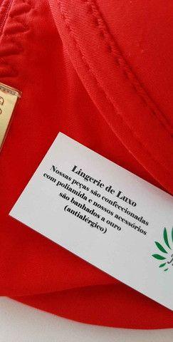 Conjunto Lingerie GG Vermelha - Foto 3