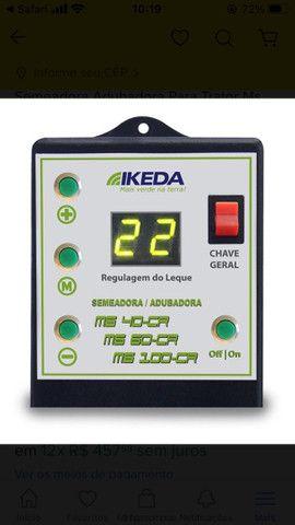 Semeadora Adubadora Para Trator Ms 100 Cr  Ikeda Embrapa Com Controle  - Foto 3
