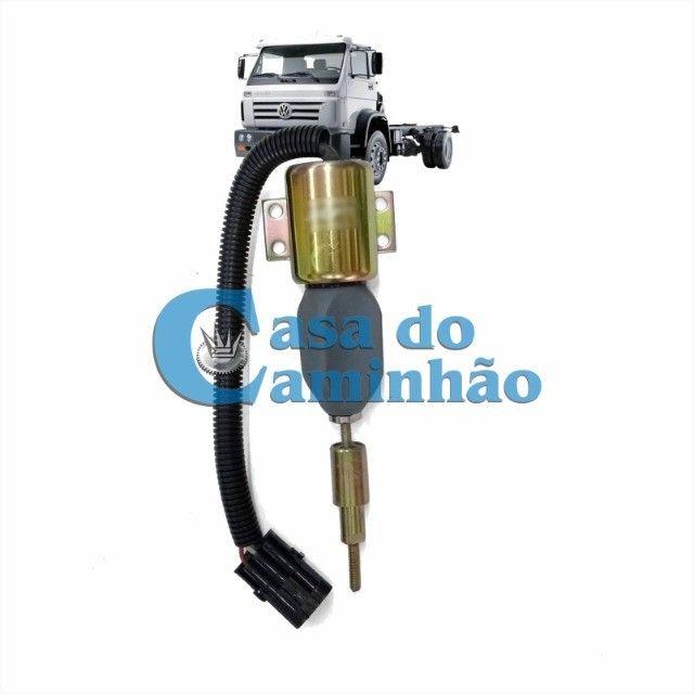 Válvula Solenoide Corte Comb 12v - Vw 17220 / 24220 / 24250 - Foto 3