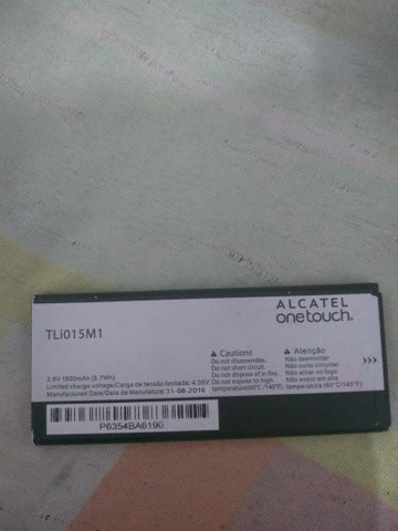 Bateria do Alcatel one touch  - Foto 2