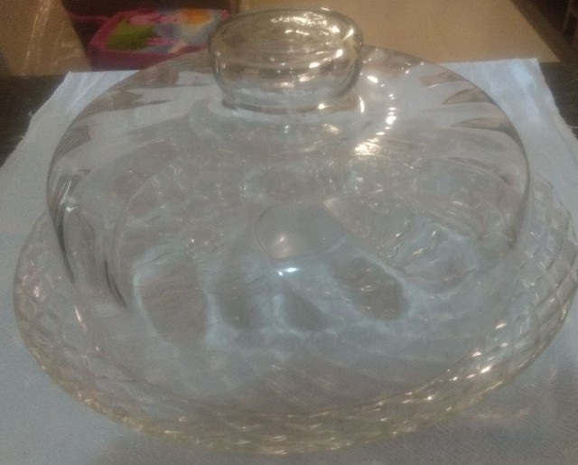 Boleira de vidro média - Foto 2