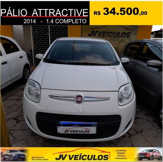 Palio attractive 1.4 completo (2014 economy) - Foto 2