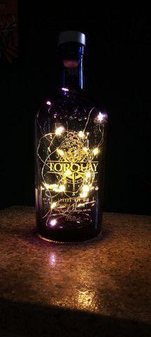 Luminárias garrafas decorativas diversas marcas de Garrafas nacionais e importadas