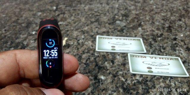 Smart Band M5 com pulseira extra - Foto 4
