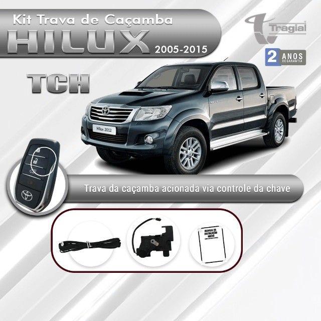 Kit Tragial - Trava de Caçamba Toyota Hilux 2005/