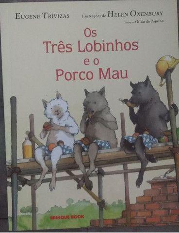 Livro os tres lobinhos e o porco mau