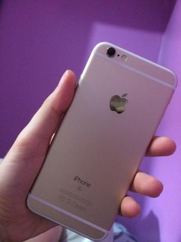 Vendo iPhone 6s dourado