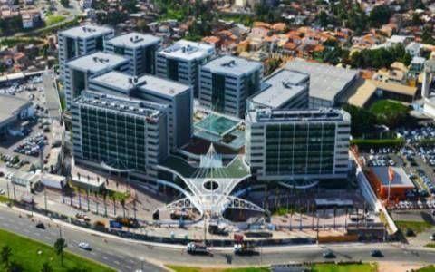 Sala comercial recém reformada no Hangar Business Park