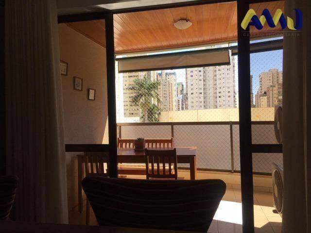 Apartamento à venda, 113 m² por r$ 410.000,00 - setor bueno - goiânia/go - Foto 2