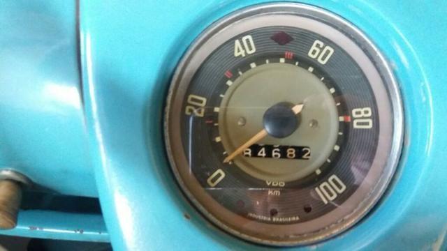 Kombi Corujinha 1964 azul, motor, suspenção, freios e elétrica nova - Foto 14