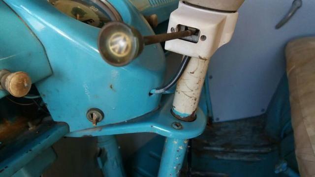 Kombi Corujinha 1964 azul, motor, suspenção, freios e elétrica nova - Foto 5